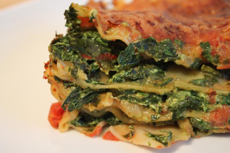 FOOD: Spinat Lasagne