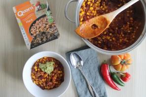 Chili sin Carne mit Quorn