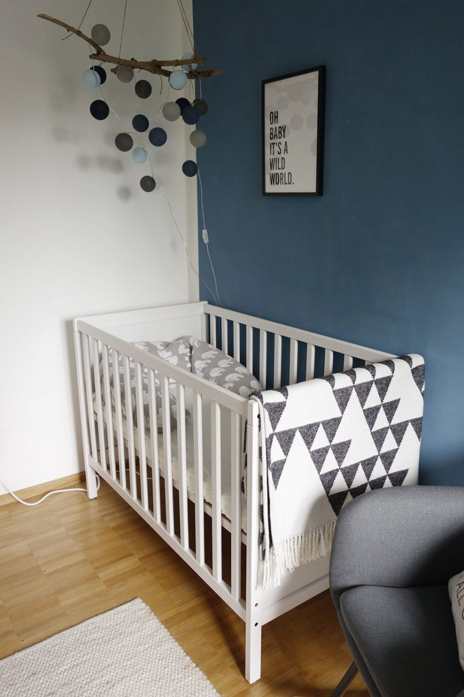 unser nachhaltiges babyzimmer wild family. Black Bedroom Furniture Sets. Home Design Ideas
